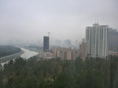 霧の街 深セン