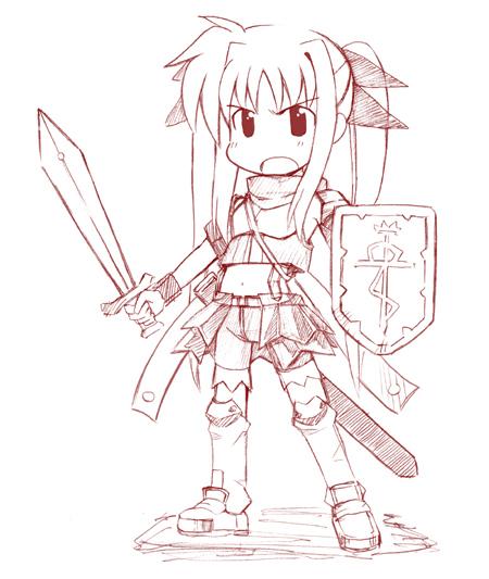 剣士フェイト